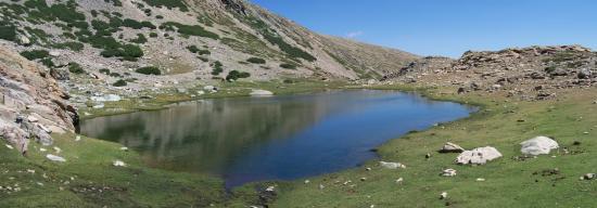 Le lac de Ghiarghe Rosse