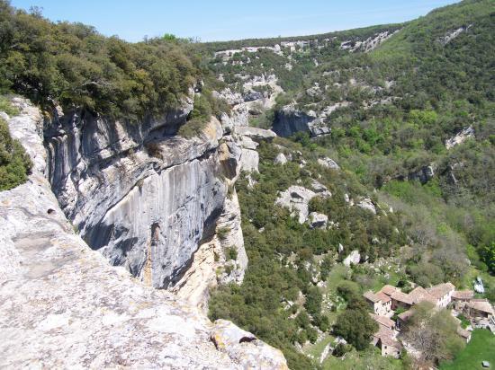 Les falaises de Buoux