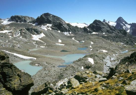 Vallon des Usselières vu depuis le Passo Alto