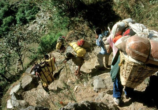 Sur le chemin du Pangsang bhanjyang