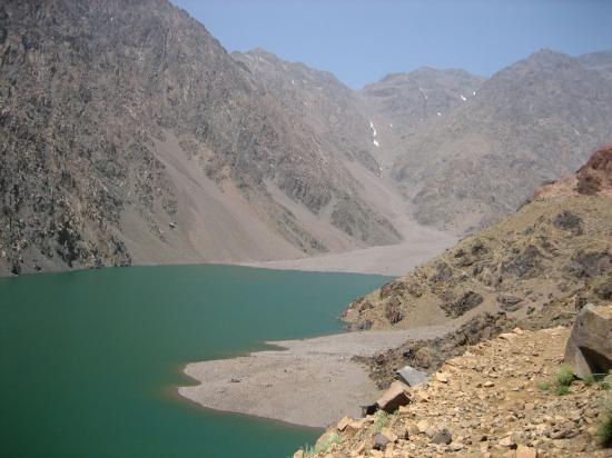 Le lac d'Ifni