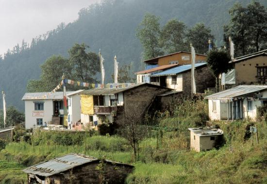 Le village de Sermathang