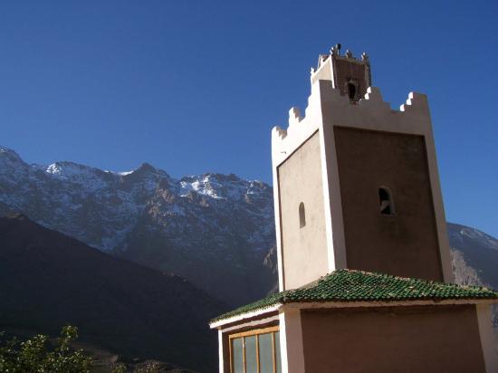 La mosquée de Tachedirt et l'Aksoual