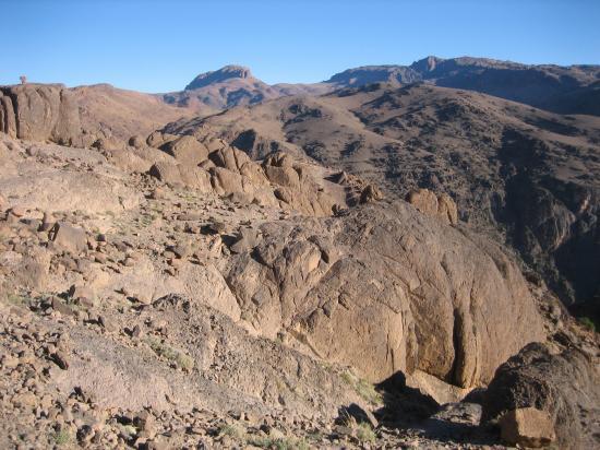 Le plateau entre Ain Tamaourte et Tizgui