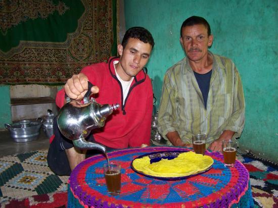Abdellatif et Hussein, muletiers de Tamatert