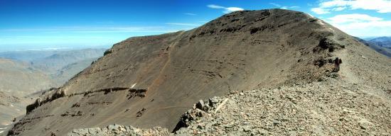 Le sommet du M'Goun (4068m)