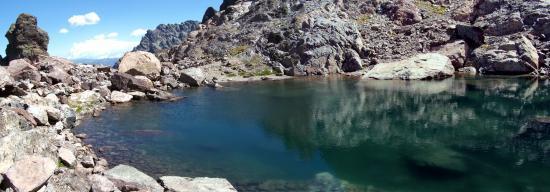 Le lac d'Argentu