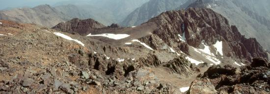 Au sommet du Djbel Toubkal (4167m)