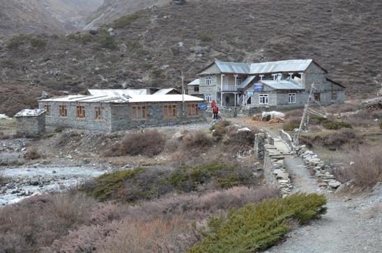 Les refuges du Tilicho BC (4165m)