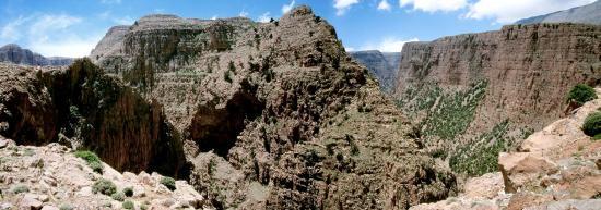 Le canyon de l'Aqqa n'Tazzart