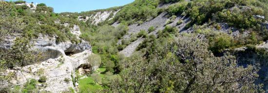 Le vallon de l'Aiguebrun