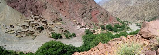 Le village de Timichi (vallée de l'Ourika)