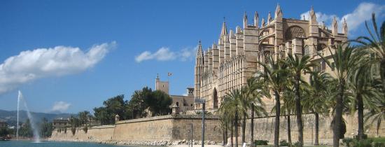 La cathédrale de Palma de Majorque
