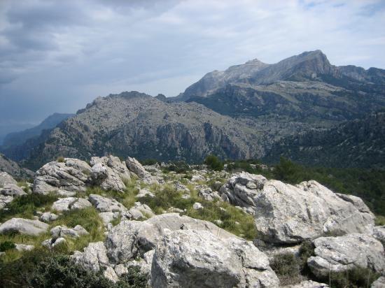 Le Puig Major vu depuis le Puig Balitx