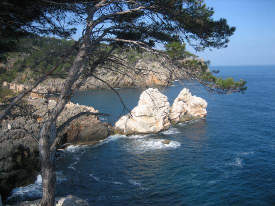 Le sentier littoral du côté de Déia
