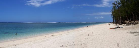 La plage de l'Hermitage à St Gilles (ça fait rêver...)