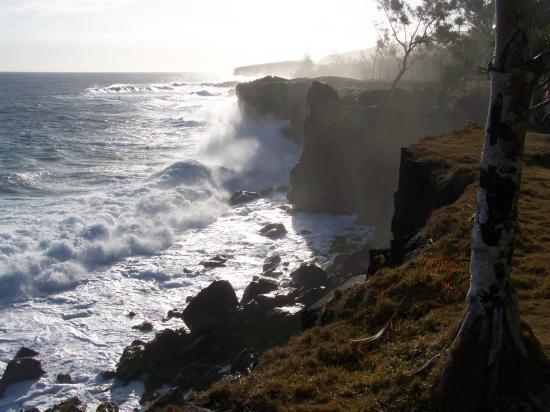 Le Baril sur la côte Sud sauvage