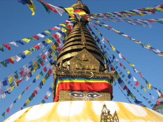 Le temple de Swayambunath (Vallée de Kathmandou)