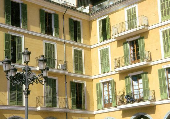 La place Jaime III à Palma de Mallorca