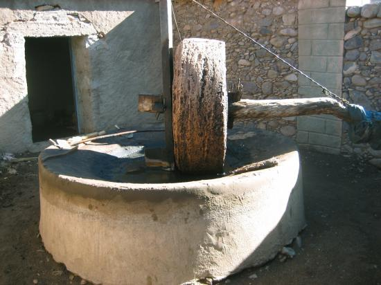 Moulin à huile à Irtem