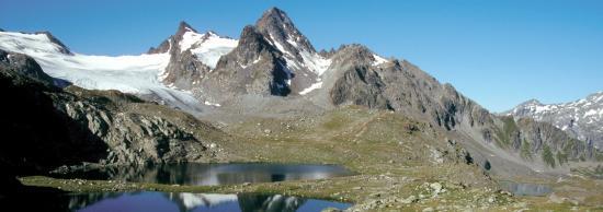 Le glacier du Ruitor et le Grand Assaly