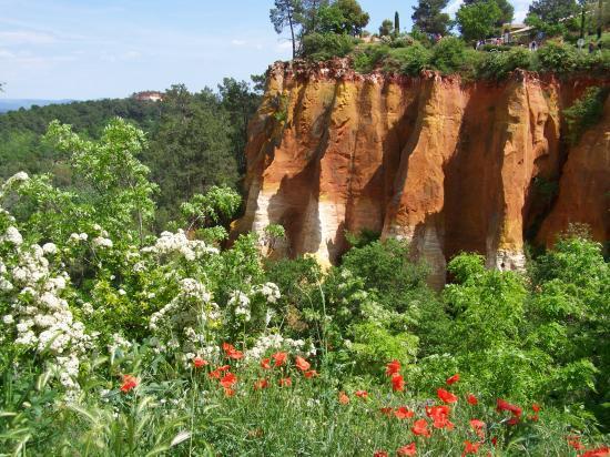 Les carrières d'ocre de Roussillon