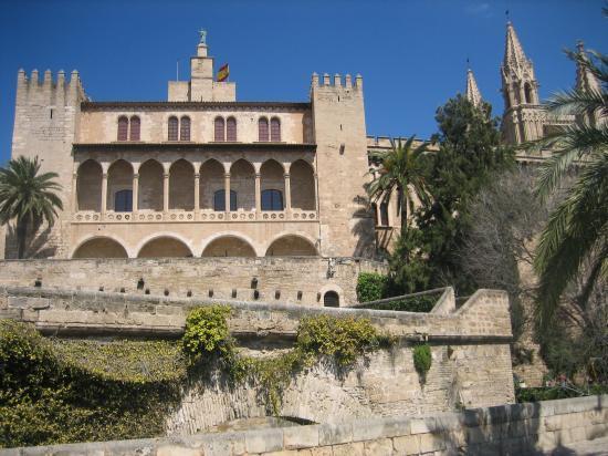 Le palais Almudaina à Palma de Mallorca
