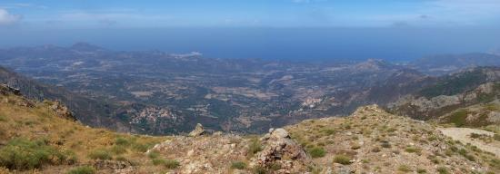 Panorama sur la Balagne