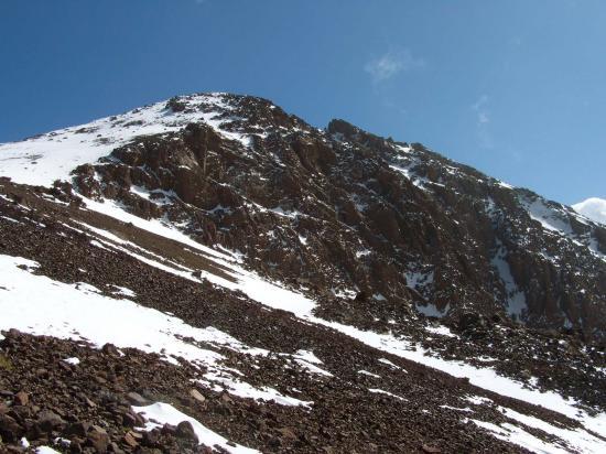 Le sommet du Bou Iguenouane (3882m)