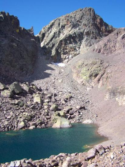 Le lac du Cinto et le Capu Falu