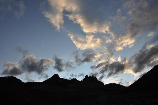 Féérie de nuages au-dessus du Sniugurtse La