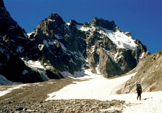 Descente du Glacier Noir et l'Ailefroide occidentale