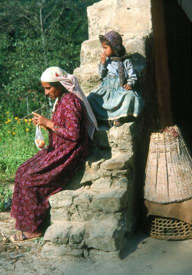 Scène familiale à Jiri