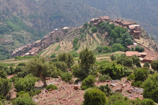Le village perché d'Agadir n'Ouzdoul