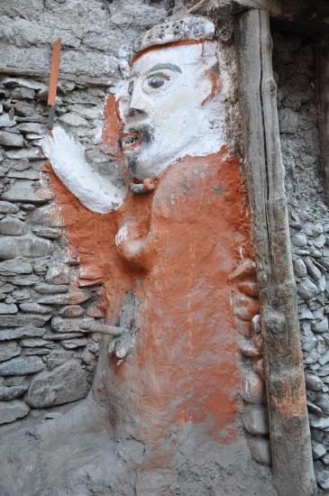 Le mémé de Kagbeni, protecteur de la cité