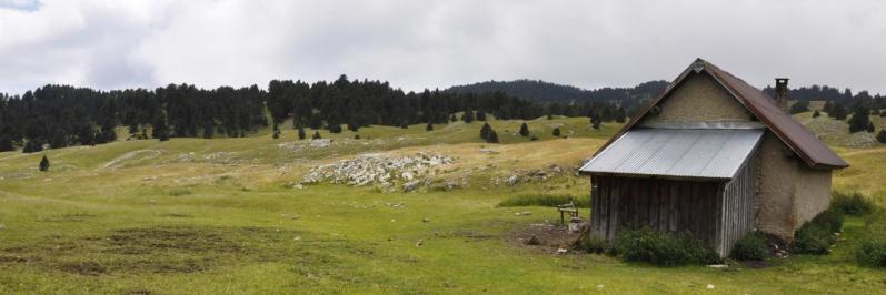 Sur les hauts plateaux du Vercors, la cabane de Pré Peyret