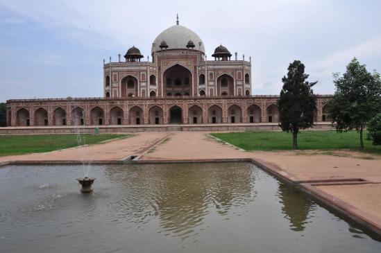 La tombe d'Humayun (Delhi)