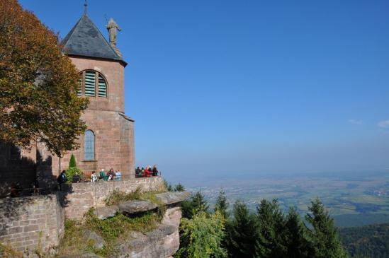 Au mont Sainte-Odile
