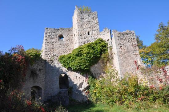 Le château de Bernstein