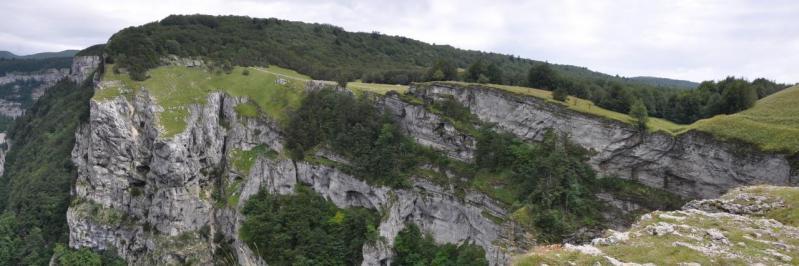 Descente sur Bouvante-le-Haut, le Saut de la Truite
