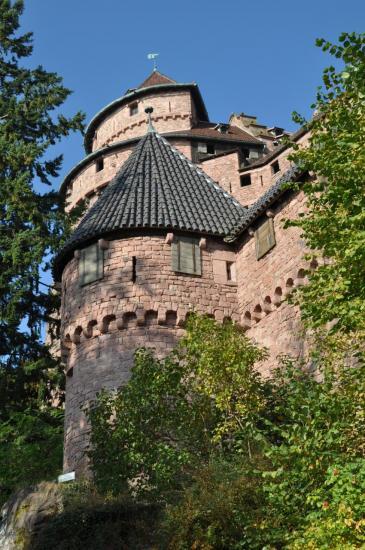 Le château du Haut-Koenigsbourg