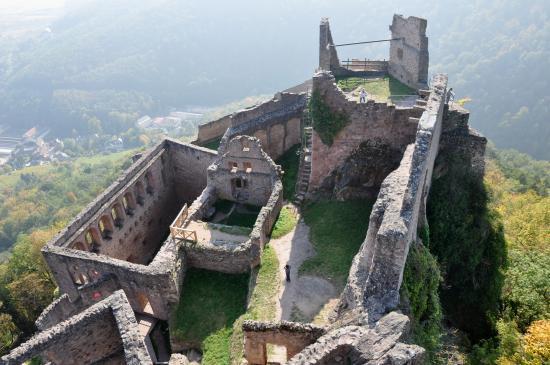 Les ruines du château de Saint-Ulrich