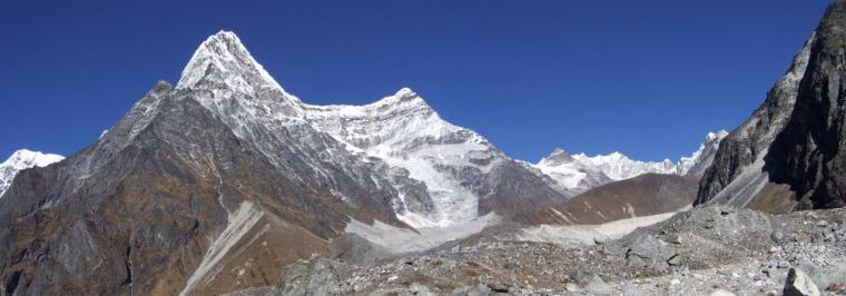 Tsho Rolpa & Ripimoshar glacier