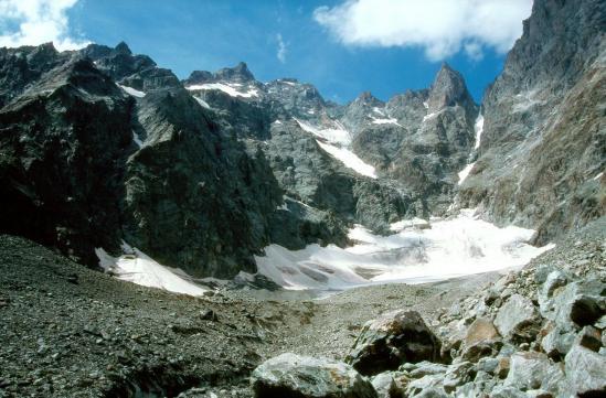 Le col des avalanches (Pré de Mme Carle)