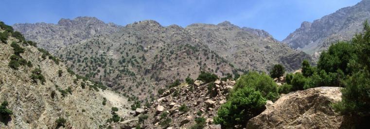 Sur le chemin de Tizi Oussem