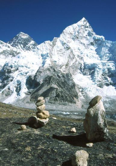 Au sommet du Kalapattar