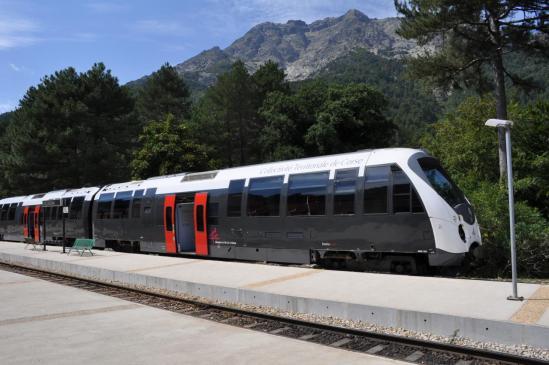 La gare de Vizzavona