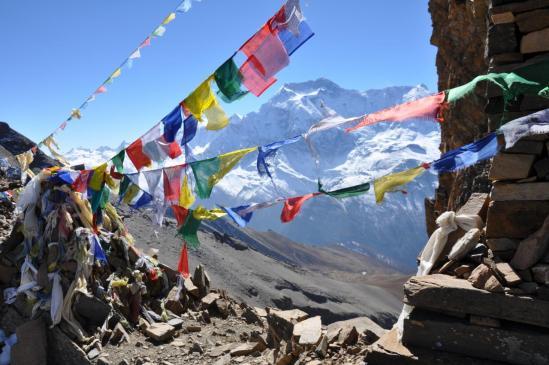 Franchissement du Kang La où l'on découvre l'Annapurna II