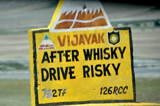 Don't drink ! Aussi...