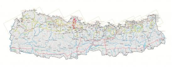 Carte nepal ght mustang l'essentiel